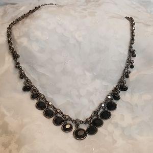 Antique Victorian Onix Necklace